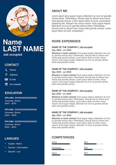 Sales Resume Template - Free Download for Word | Professional