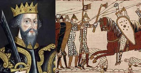 For William the Conqueror, Winning the Battle of Hastings