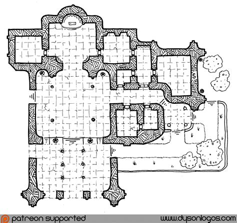 Darnstall Palace / Sanctuary of Vames | Dyson's Dodecahedron