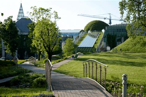 Warsaw University Library - Greenroofs