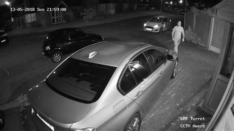 HIKVISION 6MP TURRET FOOTAGE (NIGHT TIME) - YouTube