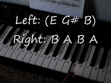 The Final Countdown Piano Tutorial with chords (both hands