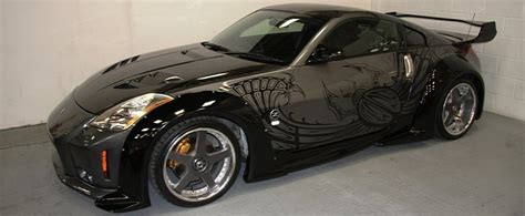 Buy the Tuned Up 2003 Nissan 350Z Takashi's Friend Drove