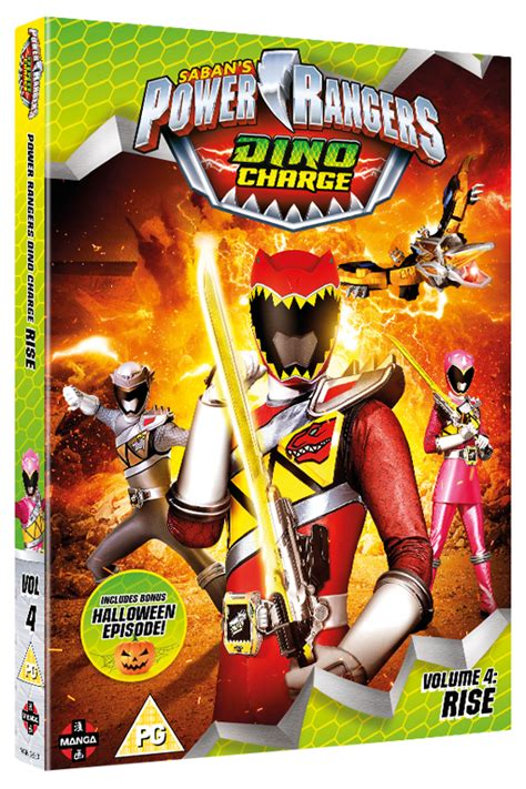Power Rangers Dino Charge: Rise (Volume 4) on DVD