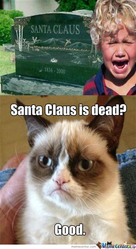 Proof That Santa Claus Does Not Exist by creepergalore