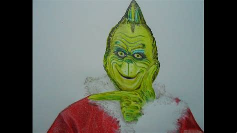 How to Draw Christmas The Grinch - Christmas Drawing