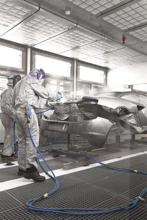 inside look at McLaren automotive's production center in
