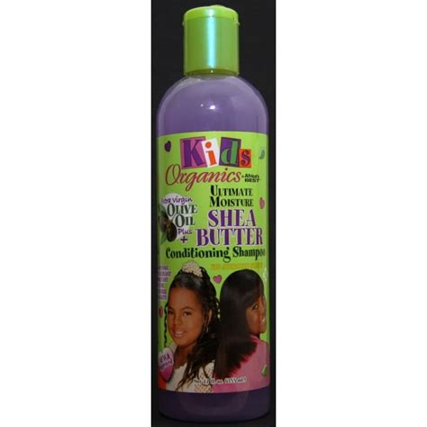 Organics by Africa's Best Kids shea butter conditioning