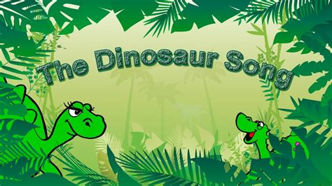 Dinosaur Song for Kids Learning English | Simple Song and