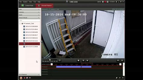 Hikvision Client Software Demonstration - YouTube
