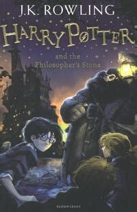 Harry Potter and the philosopher's stone, J K Rowling