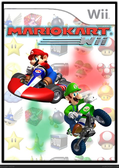 Mario Kart Wii Wii Box Art Cover by topper1
