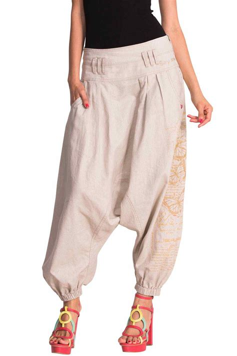 Buy DESIGUAL Pants NAVY 50P26A9   Wide Trousers