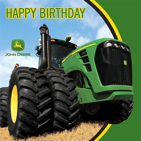 From the John Deere Party Supply Collection