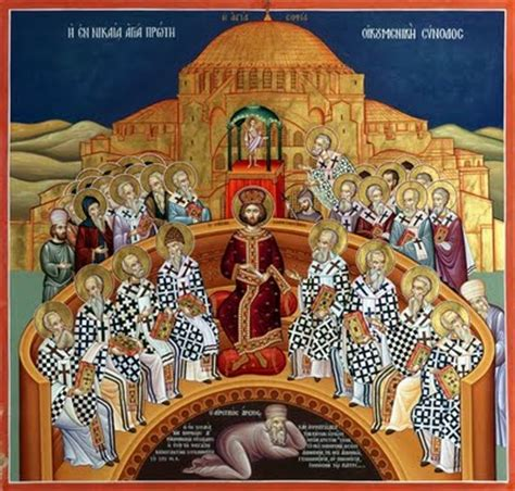 7th Sunday of Pascha – Holy Fathers of the 1st Ecumenical