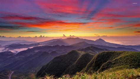 Mountain Sunrise Wallpapers For Android Is 4K Wallpaper