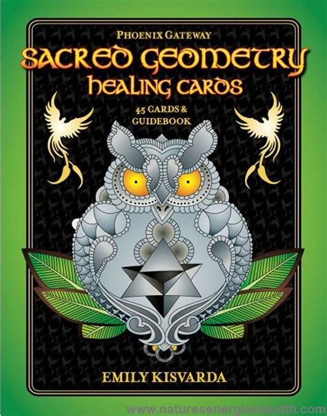 Sacred Geometry Healing Cards Deck and Book
