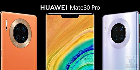 HUAWEI Mate 30 Pro - 4G vs 5G Price + Specifications