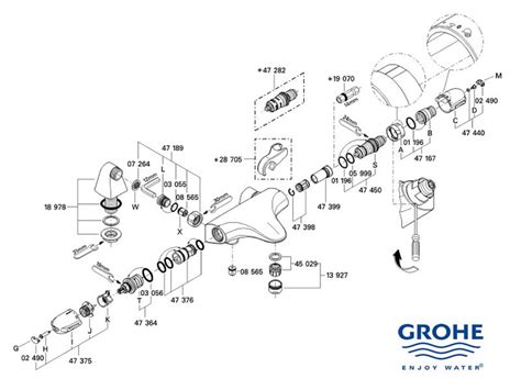 Shower spares for Grohe Grohtherm Auto 3000 | Grohe 34479