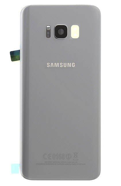 Back cover - achterkant Samsung Galaxy S8 Plus zilver