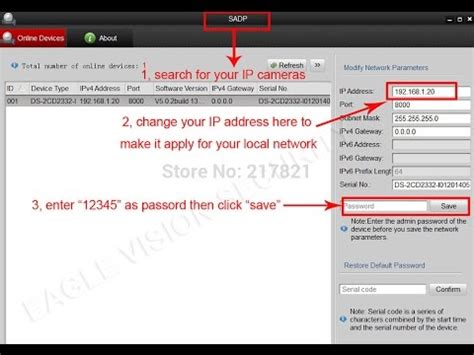 How to Change IP Hikvision Camera & NVR/DVR from SADP Tool