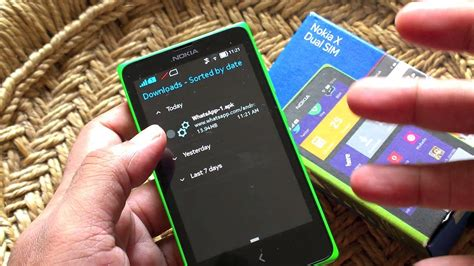 Nokia X - How to install WhatsApp, Instagram or any