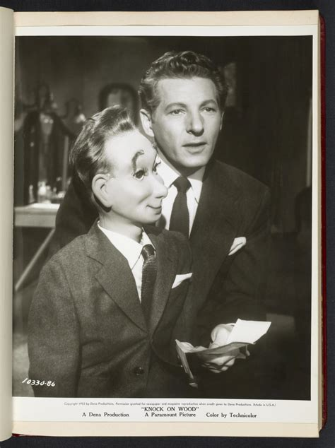 """[ Danny Kaye with ventriloquist doll - scene from """"Knock"""