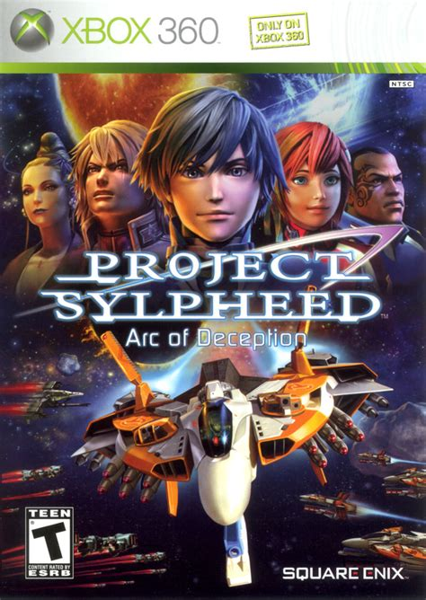 Project Sylpheed: Arc of Deception (2006) Xbox 360 credits