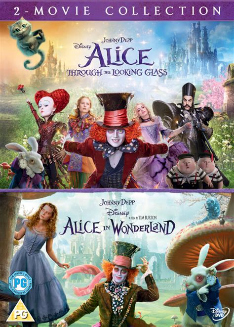 Alice Through the Looking Glass/Alice In Wonderland Double