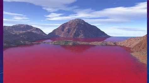 WATER BECOMES BLOOD RED - YouTube