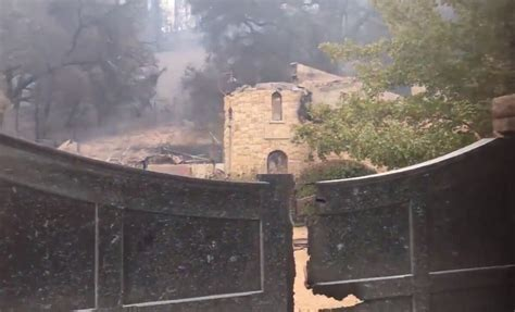 Wineries and vineyards in Napa and Sonoma damaged by fires