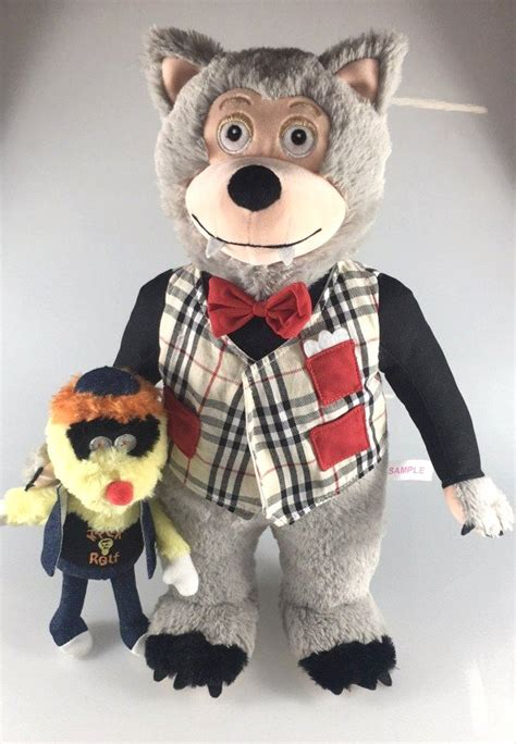 """Rolfe and Earl - Rock-afire Explosion 16"""" plush doll"""