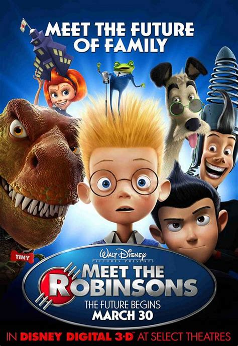Meet the Robinsons Movie Poster (#3 of 8) - IMP Awards