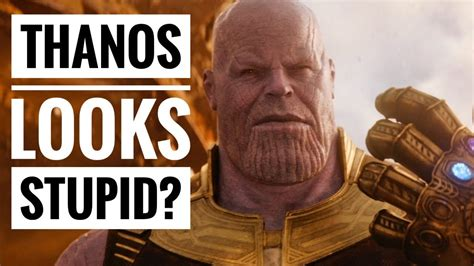 Does Thanos Look Stupid? - Fan Question of the Day