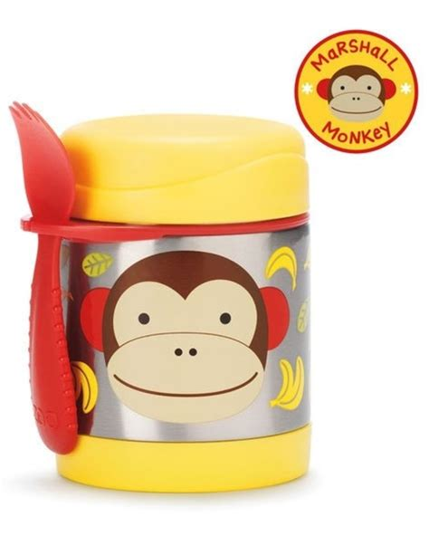 Lunch Thermos kind Uil Skip Hop , Lunchbox kinderen