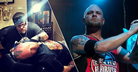 Five Finger Death Punch's Ivan Moody Gets a Face Tattoo