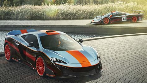 McLaren has created this stunning one-off Gulf 675LT   Top