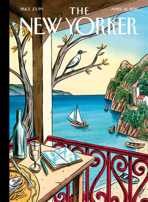 When New Yorker Covers Pick Up and Go - The New Yorker