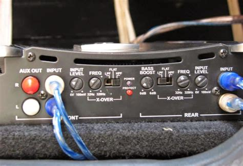How To Adjust Bass Boost Setting On a Car Amplifier - How