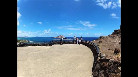 A 360 degree look at Waimanalo Beach Park Lookout - Oahu